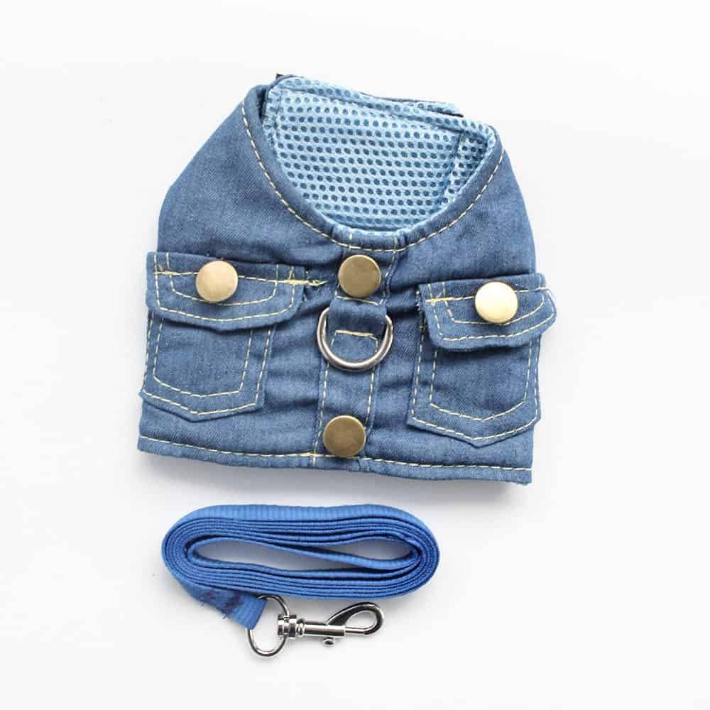 Yorkshire Terrier Denim Harness