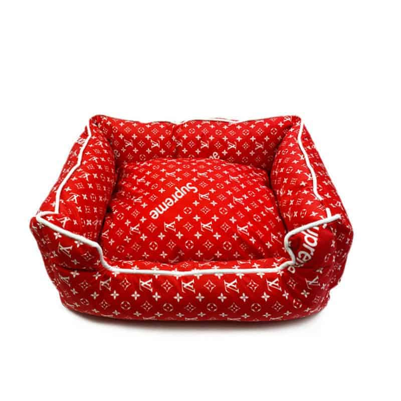Red Pawpreme Designer Dog Bed